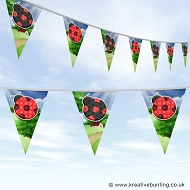 Animal Bunting - Cute Ladybird Design