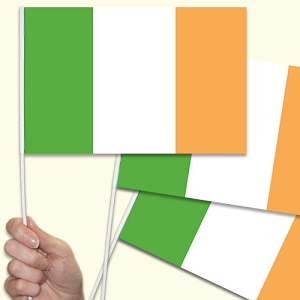 Ireland / Irish Handwaving Flags - 10 Pack