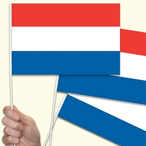 Netherlands Handwaving Flags - 10 Pack