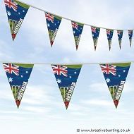 Cricket World Cup Bunting - Australia