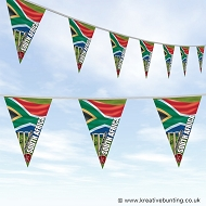 Cricket World Cup Bunting - South Africa