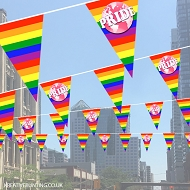 Pride Bunting - World Rainbow Design 1