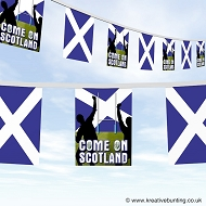 Come On Scotland Rugby Bunting