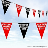 YOUR TEXT/YOUR COLOUR - CUSTOM WORDS Bunting