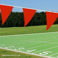 RED School Sports Day Bunting / team event Bunting in RED (Single 10 mtr. length) (COPY)