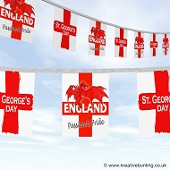 St. George Bunting - England dragon design