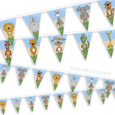Animal Bunting - Choose your Animals